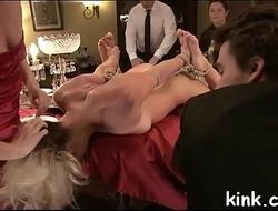 Public servitude sex