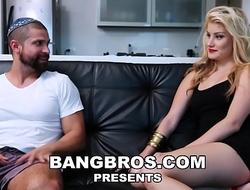 BANGBROS - Blonde Colombian Teen Valentina Bolivar Has Big Bowels &amp_ Big Ass
