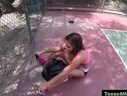 Teens Love Money - Tennis Training Gone Bad with Karter Foxx clip-01