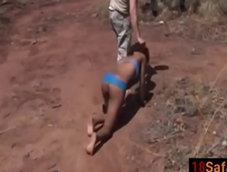 African honey forced to blow coupled with bang outdoorsefick-vol1-1-edit-ass-1