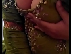 Sexy Desi Indian Babe undressed herself, shaking her nude Boobs for lover on Cam