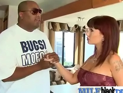 Interracial Sex With Big Black Cock In Horny Milf (carrie ann) video-10