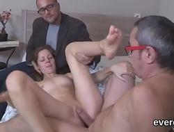 Bankrupt man lets flirty friend to bang his exgf for dollars