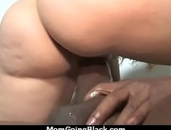 Mommy stuffed with BBC 25