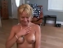 Girls Covered in LOTS of Cum Compilation Video