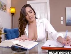 RealityKings - Big Naturals - Topless Tutor starring Brannon Rhodes and Karlee Grey