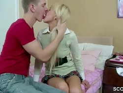 Extrem Cute Sister get First Time Anal Fuck and Facial