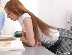 TeenMegaWorld.net - Veronika Fare - Adorable Student Fucks Her Horny School