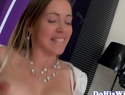 Prexy wife dickriding in front be beneficial to hubby