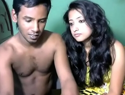 Newly spoken for south indian couple with ultra hot babe WebCam Show (2) - Pornhub.com