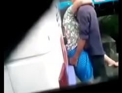 couple outside on road