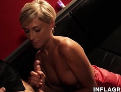 German Mom fucked in public bar