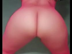 My wife in lingerie twerking