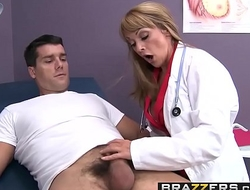 Brazzers - Doctor Adventures - Does My Dick Work Doc scene starring Shayla Leveaux and Ramon
