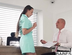 Babes - Office Obsession - Naughty Nurse starring Leny Ewil and Mea Melone clip