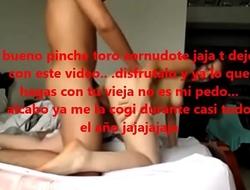 Alba&ntilde_il cholo se coje a la novia fresa de un vato freson y le manda video