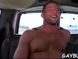 Satisfying a hungry and wild jock